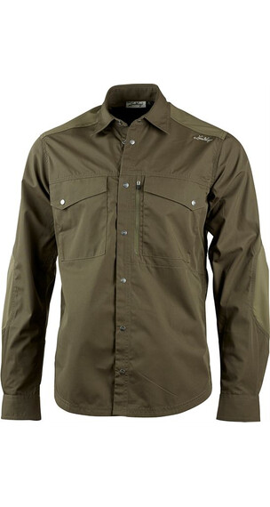 Lundhags M's Aumen LS Shirt Tea Green (680)